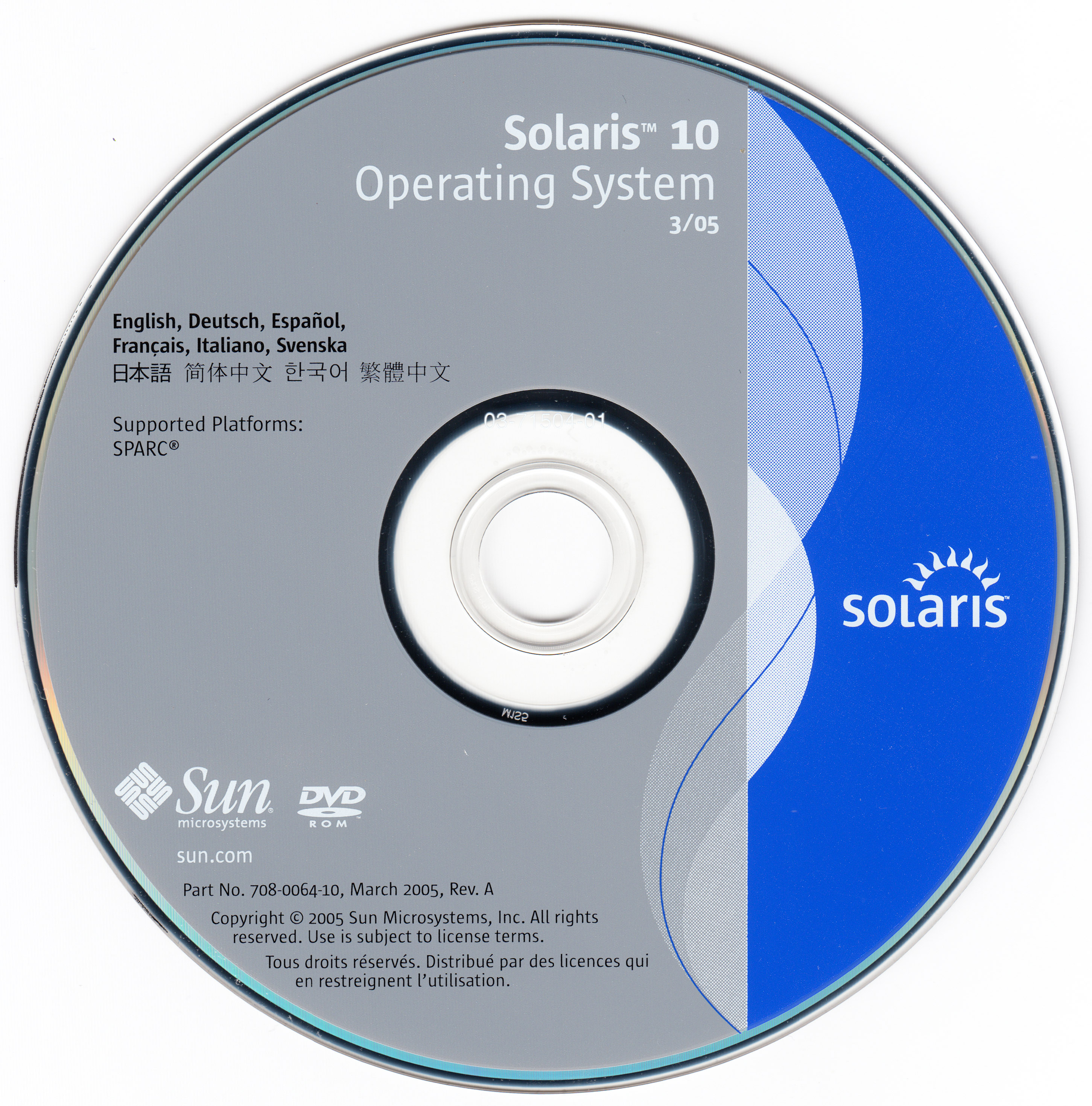Sun Solaris 10 Operating System 3 05 X86 Sparc Sun Microsystems Free Download Borrow And Streaming Internet Archive