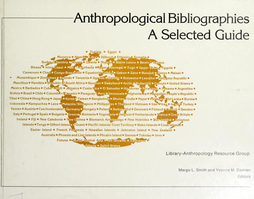 Anthropological Bibliographies by Margo L. Smith