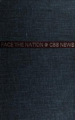 Cover of: Face the nation | CBS Television Network