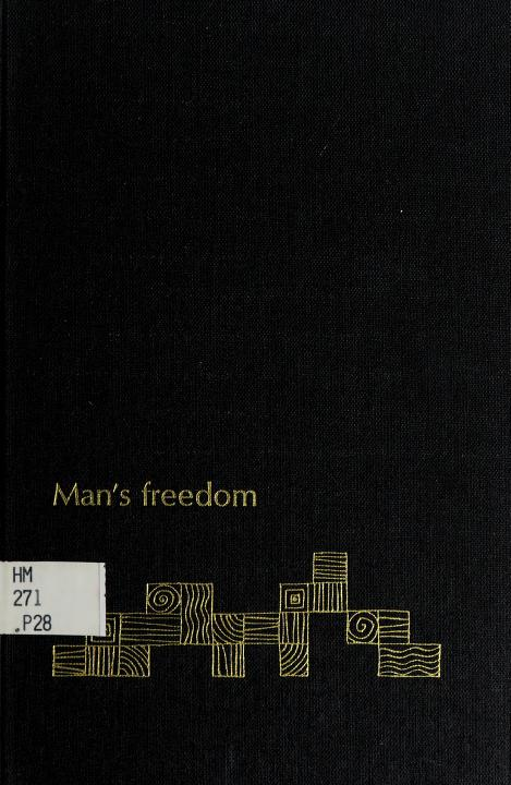 Man's freedom by Andreas George Papandreou