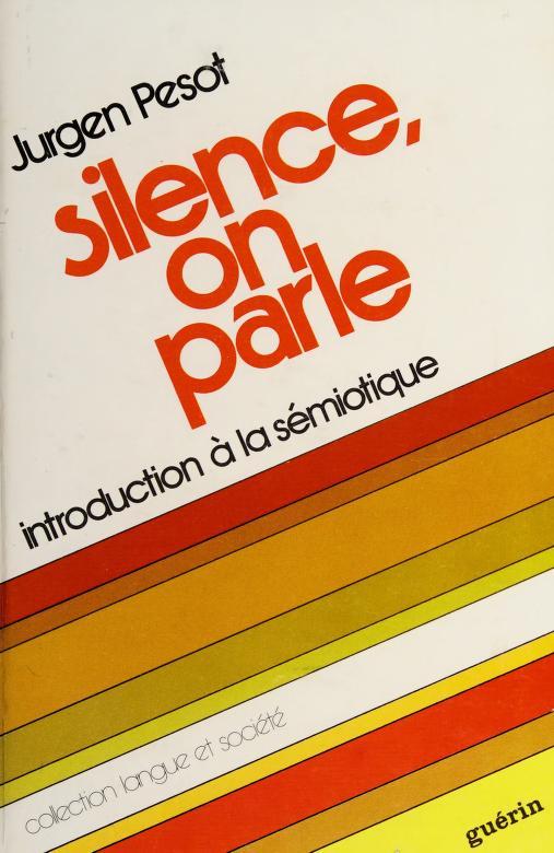 Silence, on parle by Jurgen Pesot