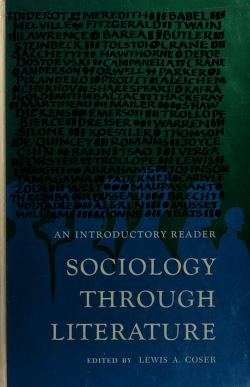 Cover of: Sociology through literature | Lewis A. Coser