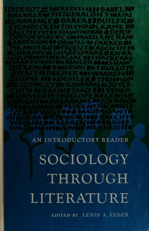 Sociology through literature by Lewis A. Coser